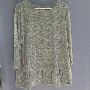 SJB Retro Sweater Blue-Green Pattern XL